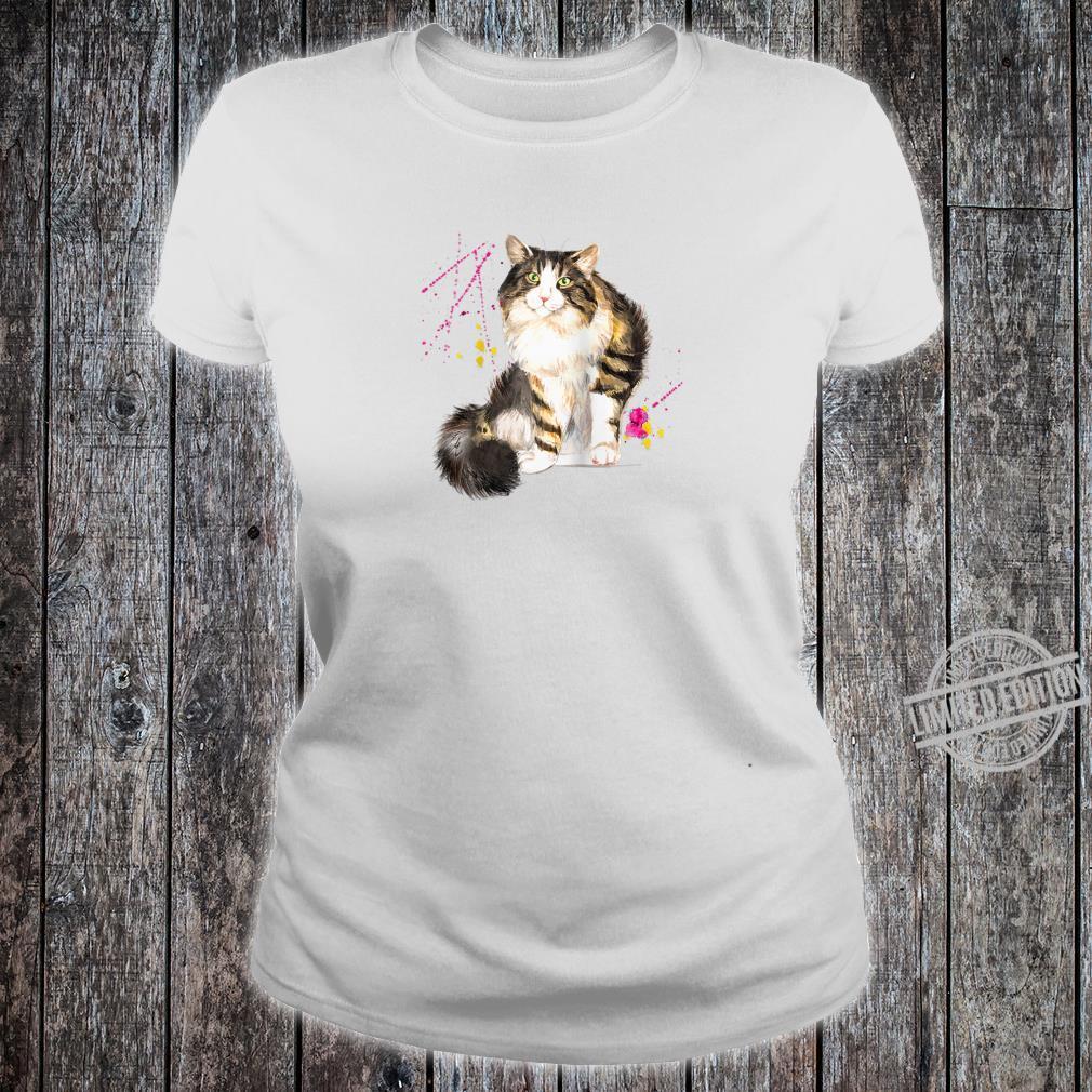 Maine CoonNorwegian Forest Cat Shirt or Shirt ladies tee