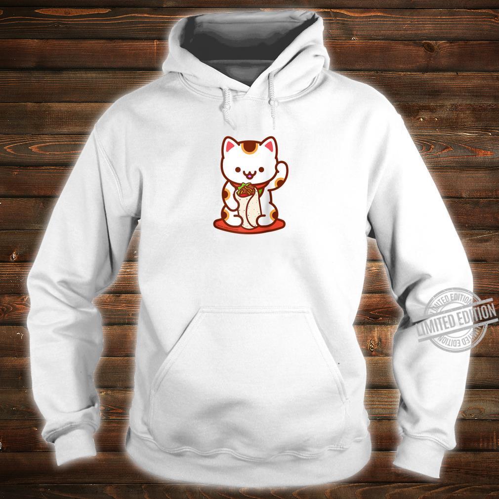 Manekineko Burrito Lucky Japanese Cat Anime, Kawaii Shirt hoodie