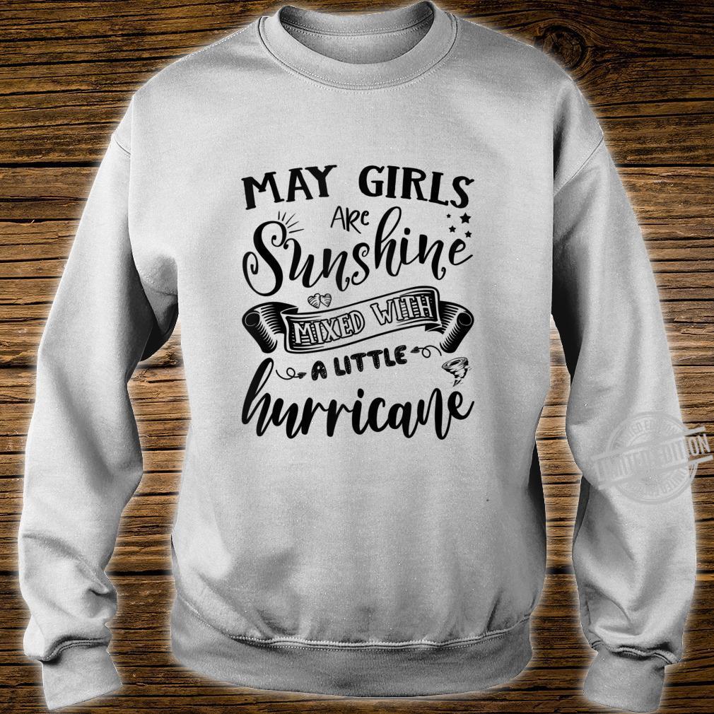 May Girls Are Sunshine Mixed Little Hurricanes Shirt sweater