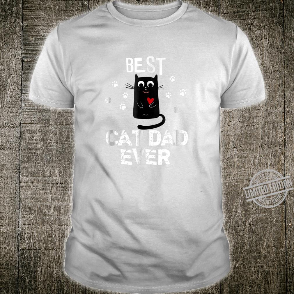 Men's Best Cat Dad Ever Shirt's Cat Shirt